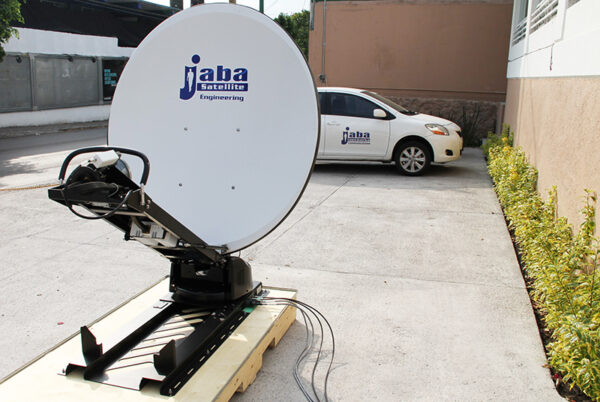 jabasat antenas mobile 1200 vsat movil SatCom Satellite Communication Mexico